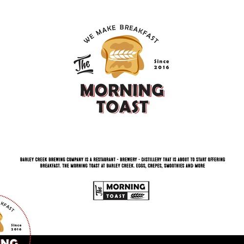 Breakfast logo with the title 'Breakfast morning restuarant logo'