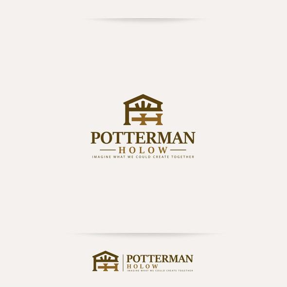 Door brand with the title 'Potterman Holow'