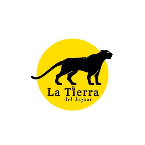 Jaguar logo with the title 'La Tierra del Jaguar'