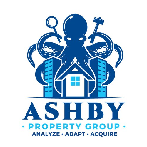 Kraken logo with the title 'Ashby Property Group'