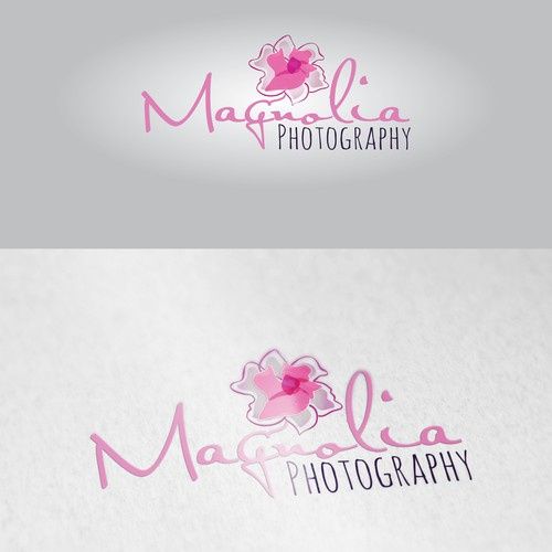 Magnolia logo with the title 'MAGNOLIA wedding photography'