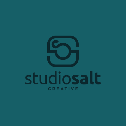 Commercial logo with the title 'Clean, Modern Logo for High Concept Photography Studio'