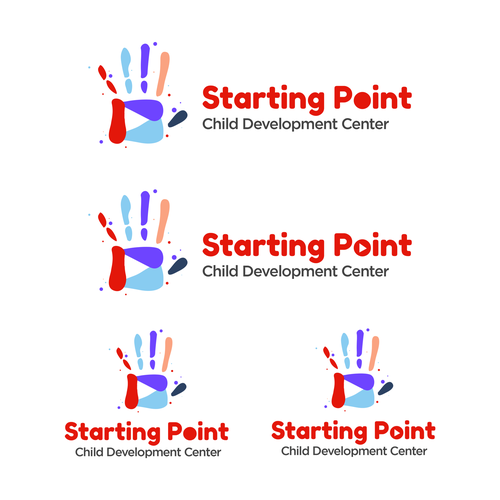 Daycare logo with the title 'Starting Point Daycare Logo'