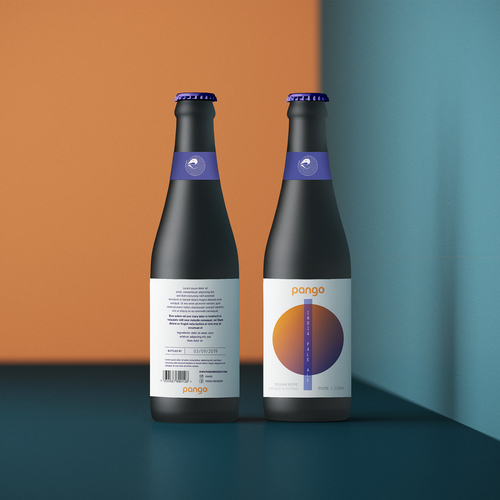 Contemporary label with the title 'Bold Design for Beer Label '