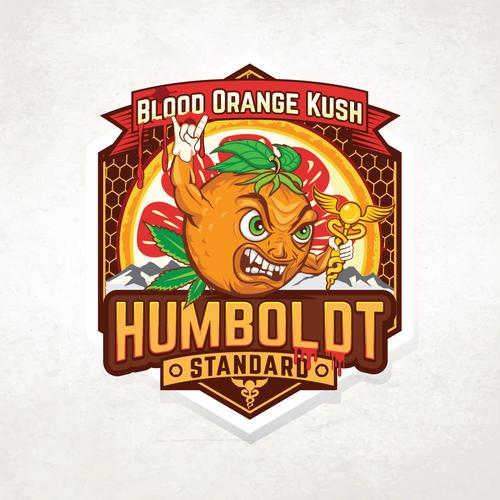 Marijuana logo with the title 'Humboldt Standard '