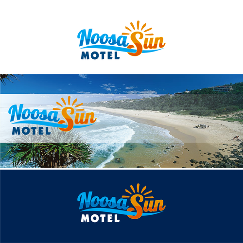 Summer brand with the title 'Noosa Sun Motel'