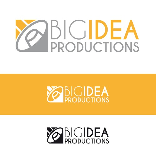 Production brand with the title 'Logo for video production company.'