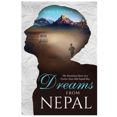 Happiness design with the title 'Dreams from Nepal'