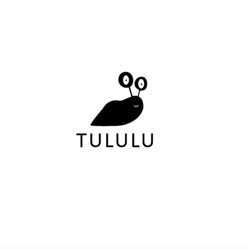 Snail logo with the title 'Logo proposto per brand di vestiti per bambini'