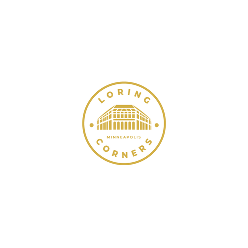 Booking logo with the title 'Loring Corners'