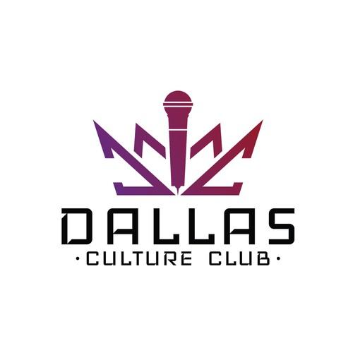 Dallas design with the title 'Dallas Culture Club'