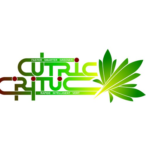 Transit design with the title 'CUTRIC- CRITUC  logotype'