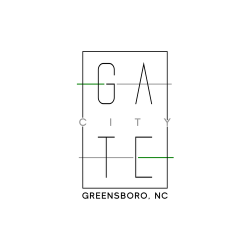 Trendy t-shirt with the title 'Greensboro T-Shirt Concept'