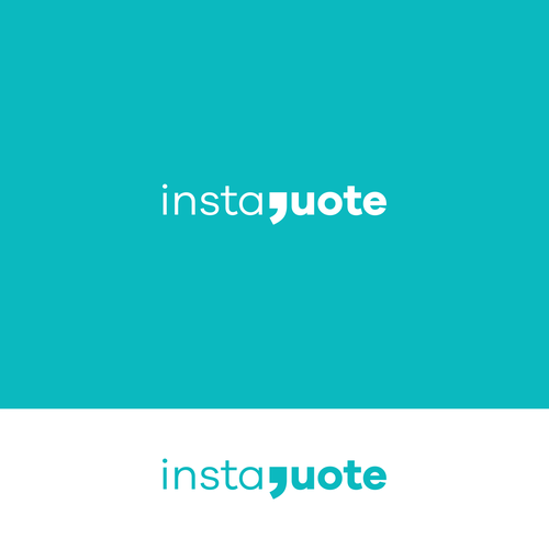 Quote design with the title 'Logo proposal for Instaquote'