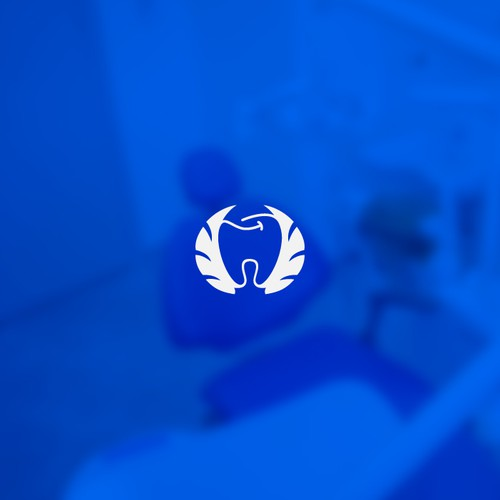Rising logo with the title 'Modern Dentistry Logo'