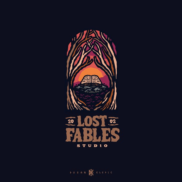 Story logo with the title 'Lost Fables Studio'