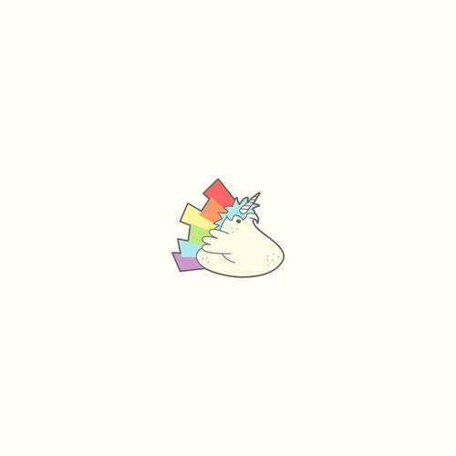 Marshmallow design with the title 'Peep logo!'