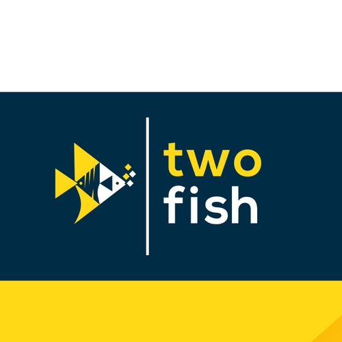 Good design with the title 'two fish'