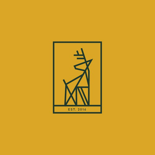 Outdoor logo with the title 'DARING DEER'
