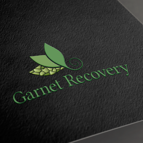 Recovery design with the title 'logo for Garnet Recovery'