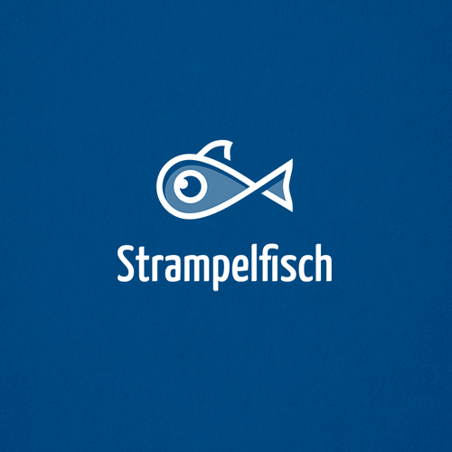 Fishing tackle logo with the title 'Fresh and modern Logo for a Map based Start-Up'