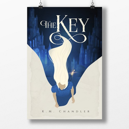 Key design with the title 'The Key'