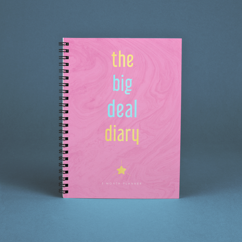Diary design with the title 'The Big Deal Diary (Journal/Planner)'