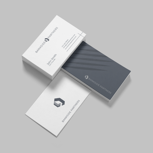 House brand with the title 'Rustic-modern logo concept for Bankside Partners'