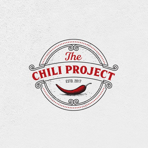 Chili pepper logo with the title 'The Chili Project'