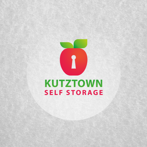 Keyhole design with the title 'Logo for Kutztown Self Storage'