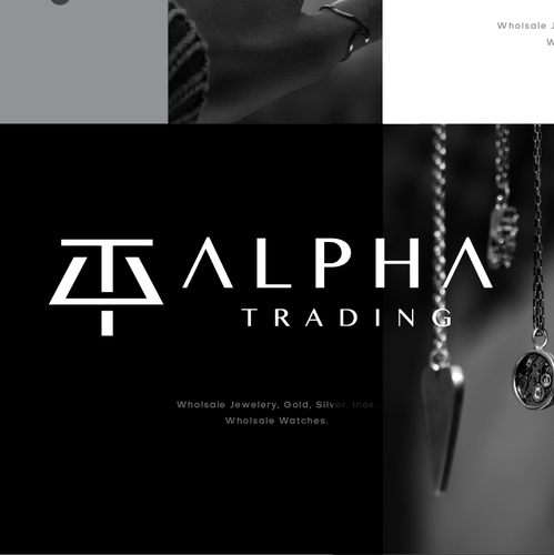 Watch design with the title 'Alpha Trading'