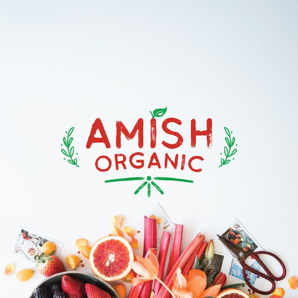 Organic brand with the title 'Organic food retailer'