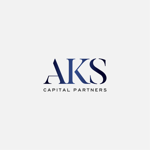 Partnership logo with the title 'AKS Capital Partners'