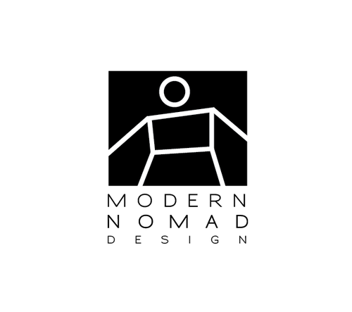 Merchant logo with the title 'Create a Logo for Modern Nomad Design'