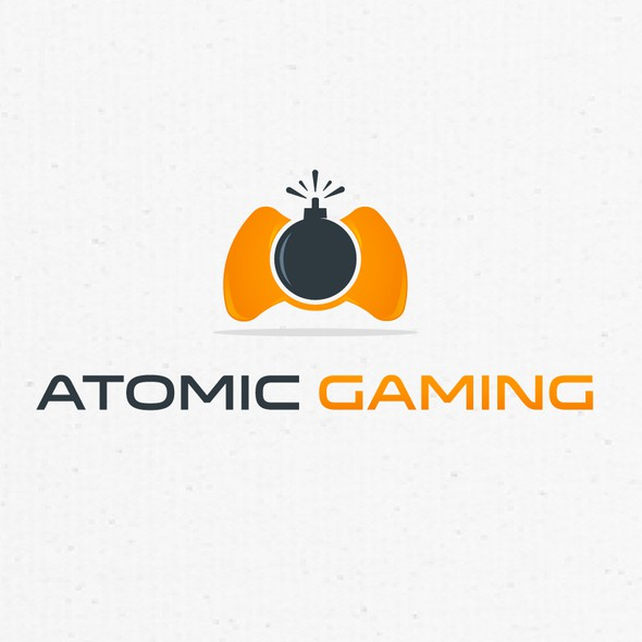 Bomb logo with the title 'Atomic Gaming'