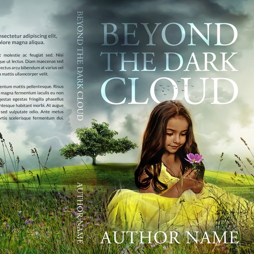 Young adult book cover with the title 'Beyond the Dark Cloud'