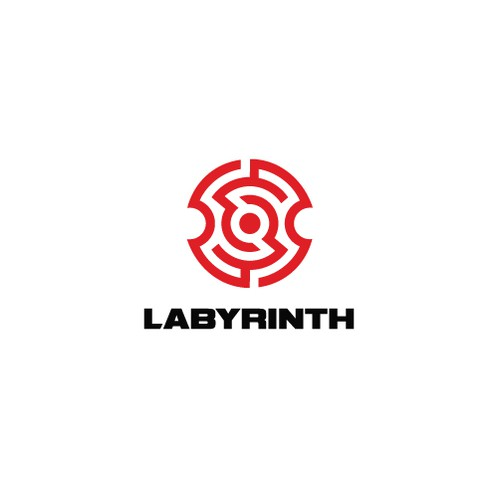 Labyrinth design with the title 'Labyrinth'