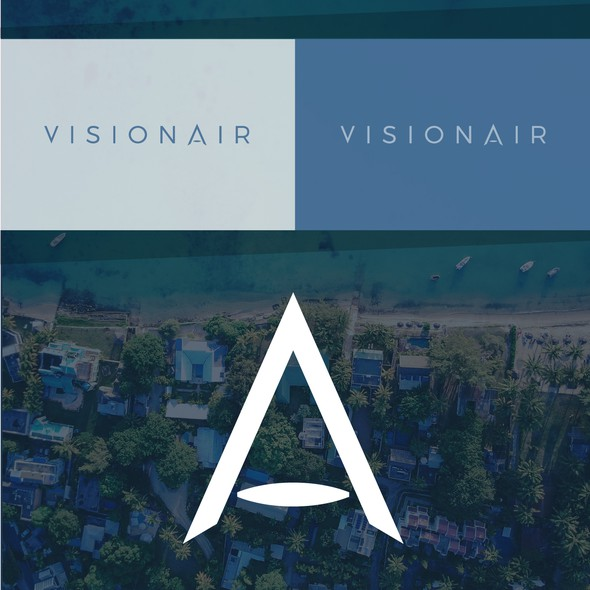 Visionary logo with the title 'Logo for VISIONAIR'