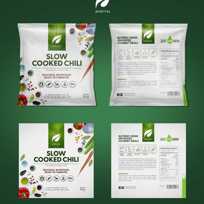 Redesign Packaging for Heartful Gourmet Meals