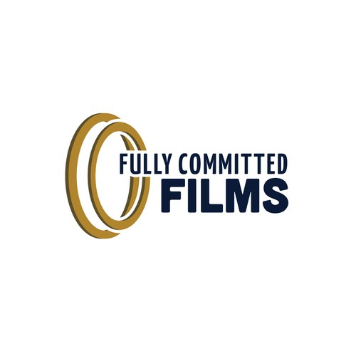 Lens design with the title 'Fully Committed Films'