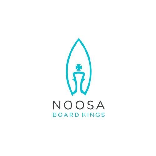 Bishop logo with the title 'board king'