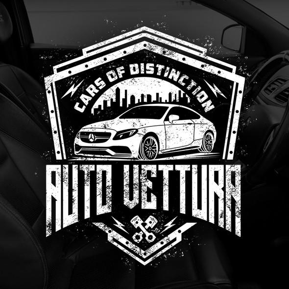 Mercedes design with the title 'Auto Vettura '