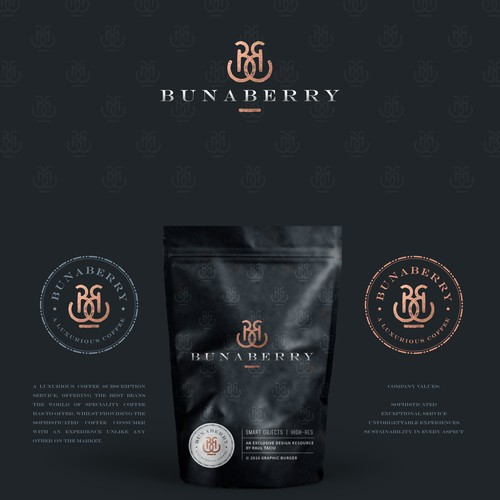 High-quality design with the title 'bunaberry'
