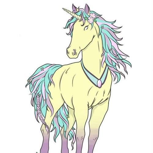 Fantastic design with the title 'Unicorn'