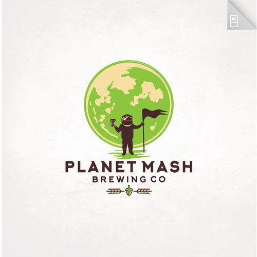 Space design with the title 'Planet Mash'