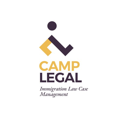 "Walk logo with the title 'CL-monogram for ""CAMP LEGAL""'"