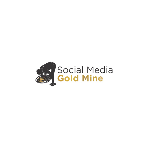Exchange logo with the title 'Logo Concept for SC Gold Mine'