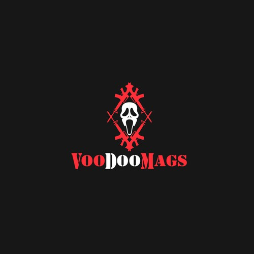 Death logo with the title 'VooDooMags'