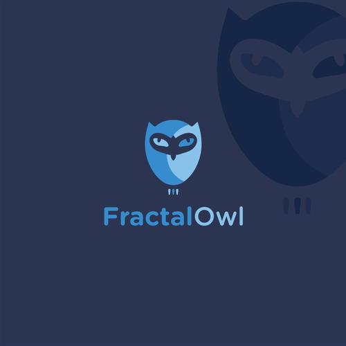 Fractal logo with the title 'Fractal Owl'