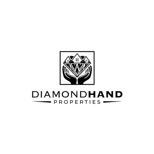 Mortgage brand with the title 'Diamod Hand Properties'